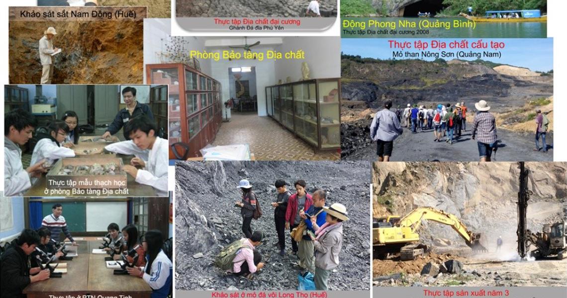 Một vài hình ảnh tổng hợp sinh viên thực địa